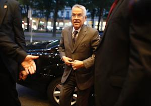 Saudi Arabia's oil minister Ali al-Naimi arrives …