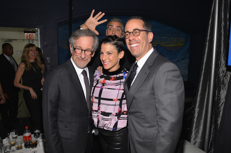 George Clooney Jerry Seinfeld Steven Spielberg