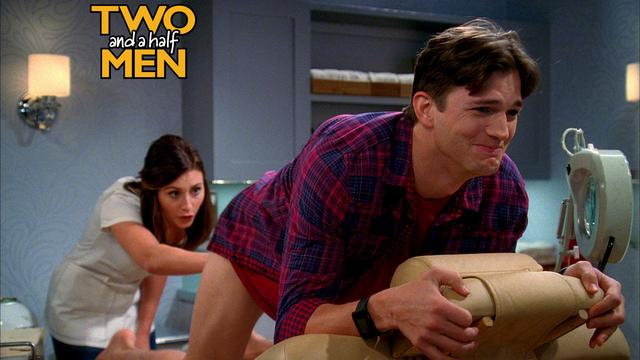 Two And A Half Men - Bro-zillian Waxing