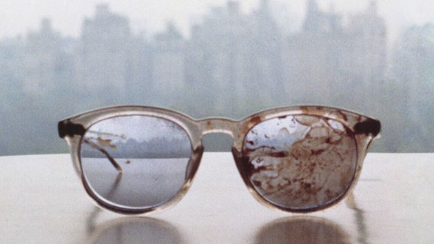 President Obama's Twitter Account Retweets Photo of John Lennon's Bloody Glasses (ABC News)