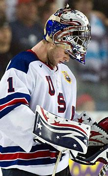 U.S. goalie Campbell will remember Canada's fans