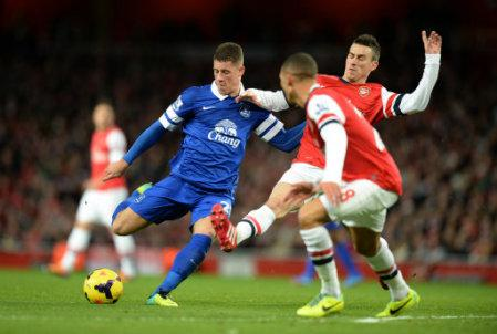 Soccer - Barclays Premier League - Arsenal v Everton - Emirates Stadium