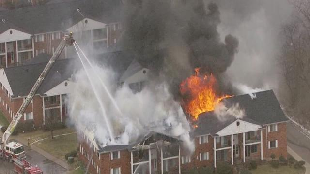 Plymouth Township Apartment Fire