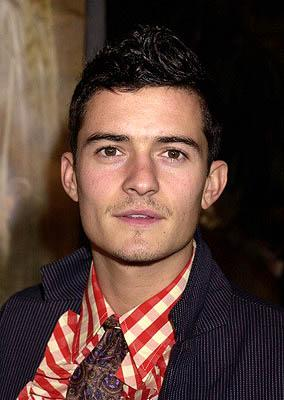 Orlando Bloom at the Hollywood premiere of New Line's The Lord of The Rings: The Fellowship of The Ring