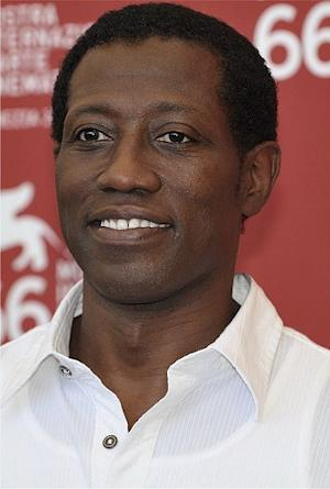 Wesley Snipes in 2009.  Photo by Nicolas Genin.
