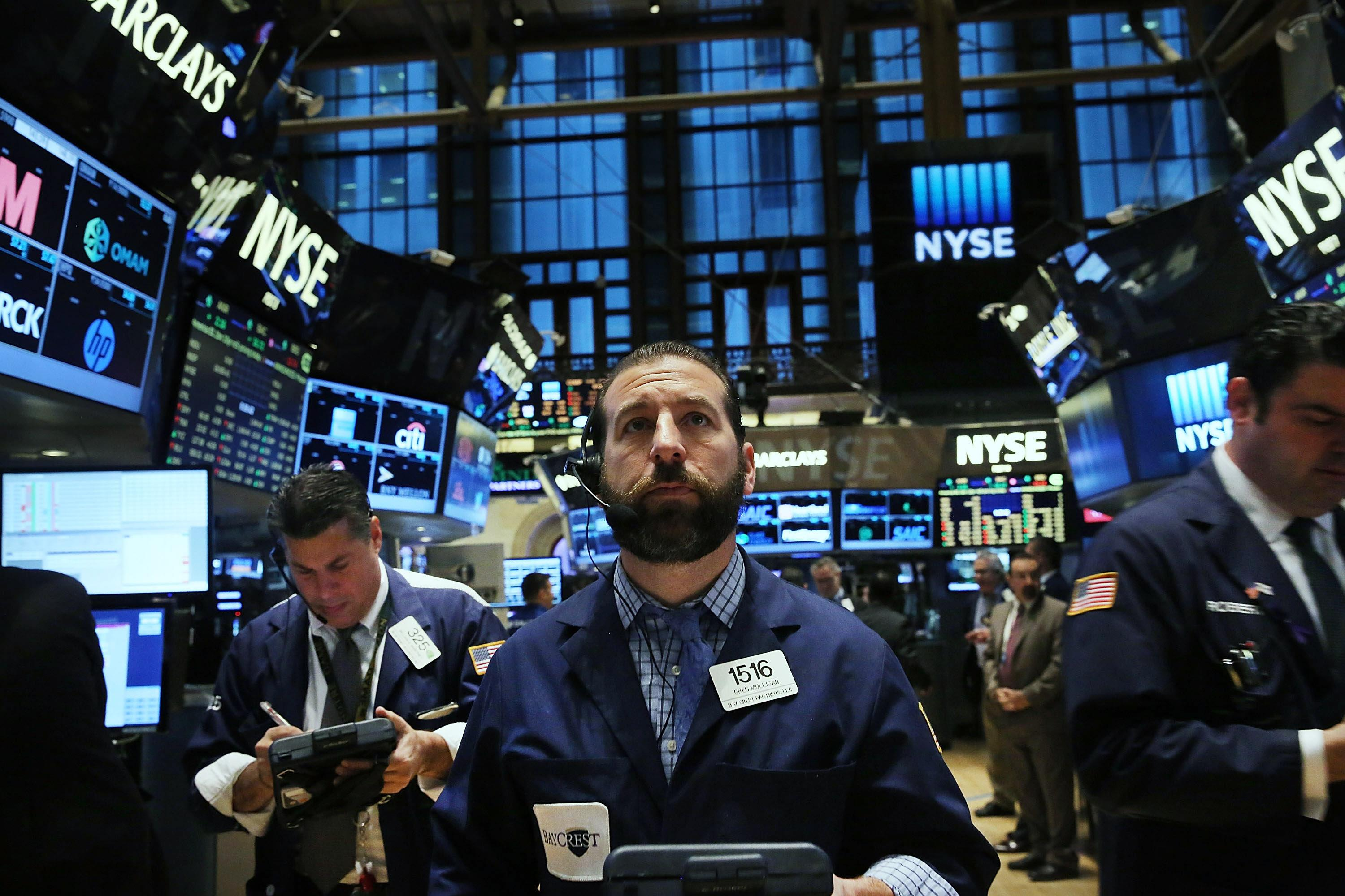Stocks slide after two-day rally; Disney soars; Panera's pantry cleanse