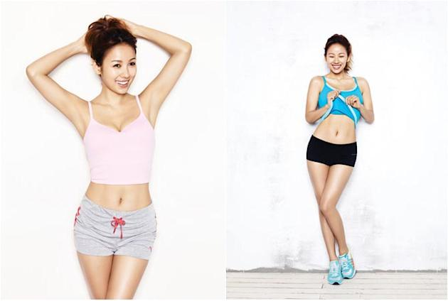 How to Get Lee Hyori′s Fit Body
