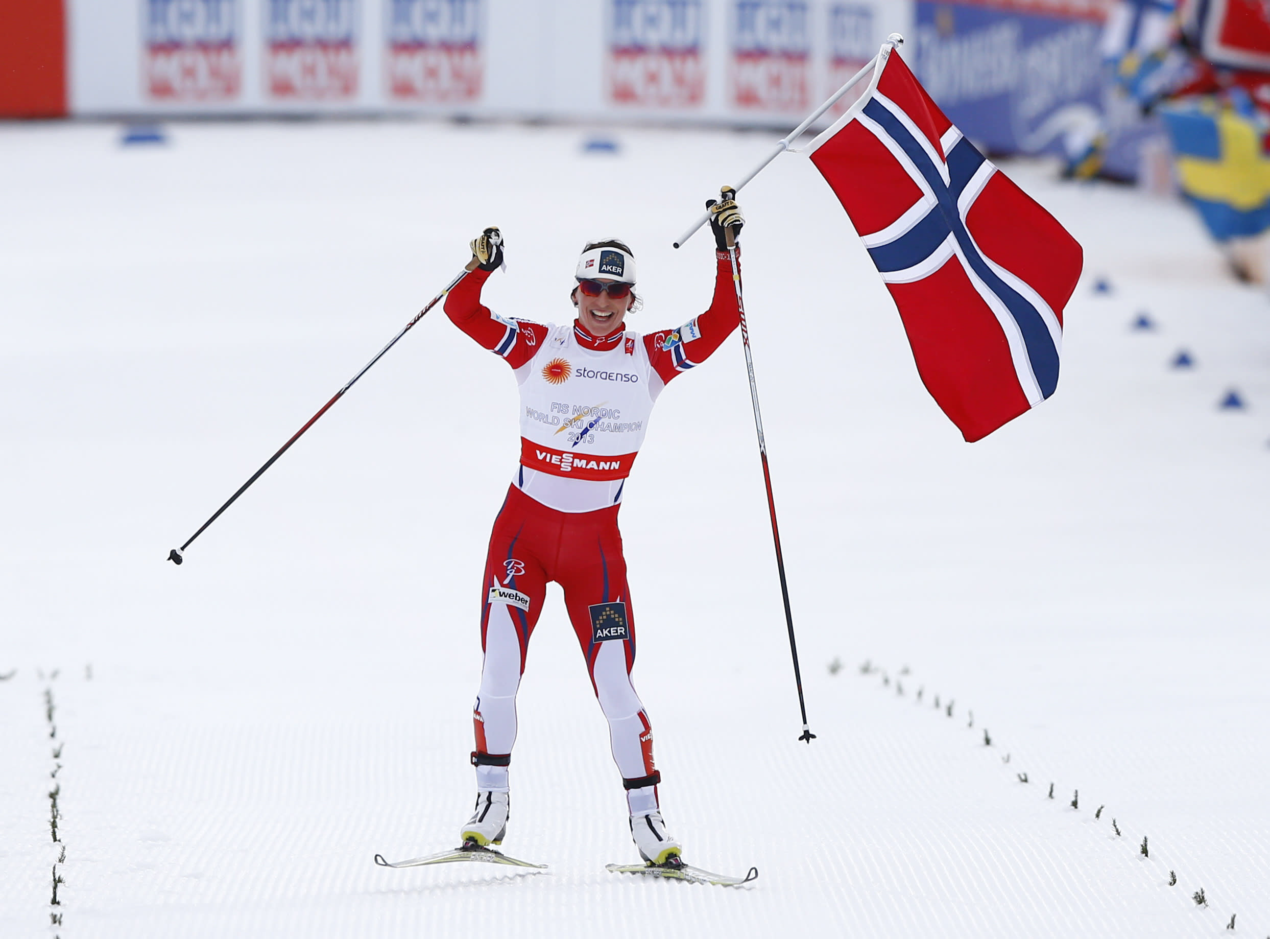 Norway restores order by winning women's cross-country relay