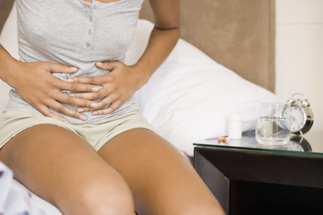 bloating belly pain