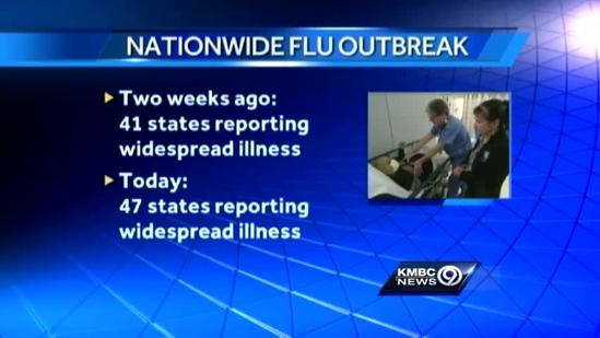 Flu season's KC impact less than elsewhere