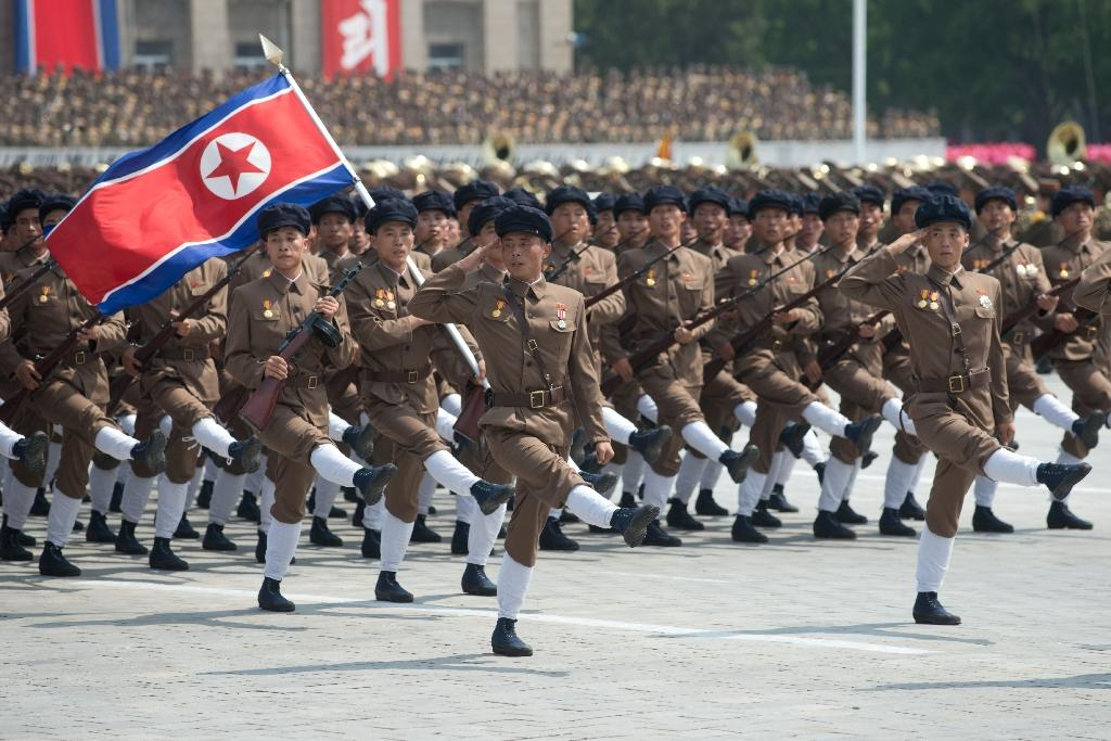 Party time in North Korea