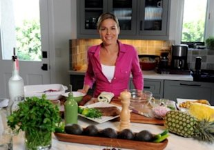 Cat Cora, Iron Chef and Executive Chef of Bon Appetit