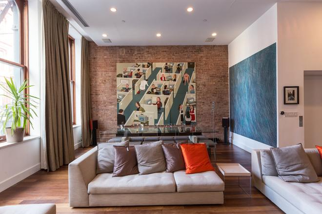 House Calls: Consummate Collector Pads His Soho Loft With Provocative Art