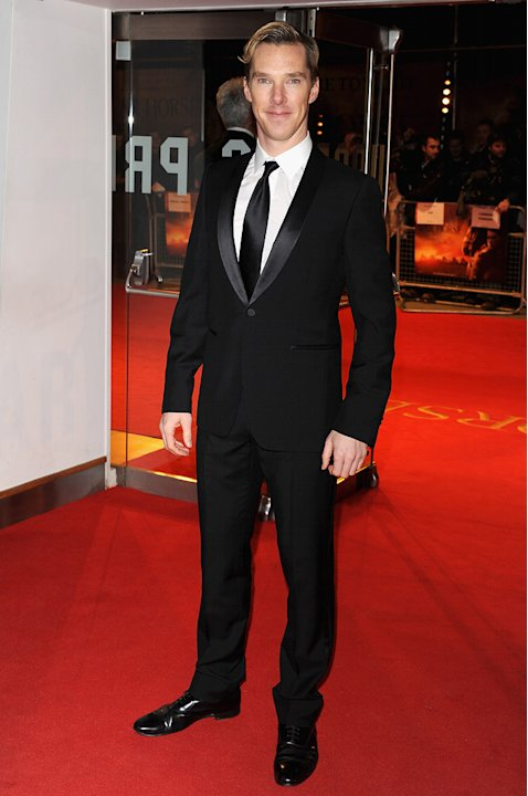 War Horse 2012 UK Premiere Benedict Cumberbatch