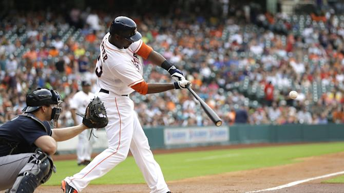 Astros hit 5 HRs, stop Mariners from moving up