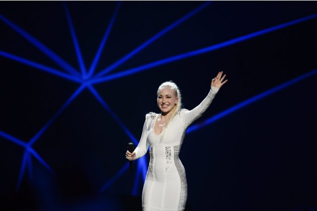 Berger of Norway performs during the final of the 2013 Eurovision Song Contest in Malmo