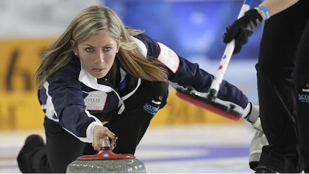 Curling - Scotland overcome Denmark to continue run at World Curling