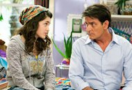 Daniela Bobadilla and Charlie Sheen  | Photo Credits: Greg Gayne / FX
