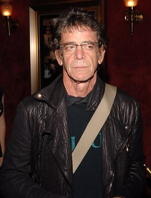 Lou Reed at the New York premiere of Warner Bros. Pictures' The Departed