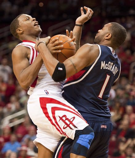 Martin scores 27 in Rockets' win over Hawks