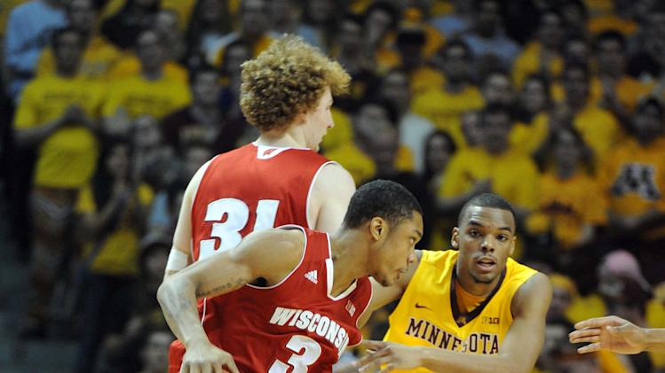 NCAA Basketball: Wisconsin at Minnesota