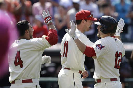 Reynolds' RBI grounder in 9th lifts Indians