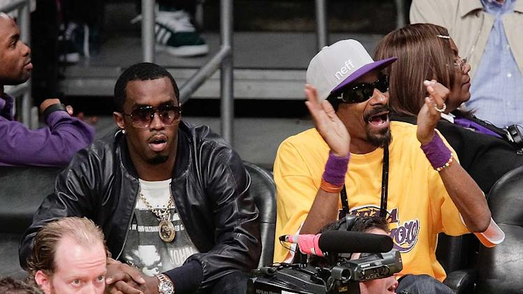 Combs Snoop Lakers Gm