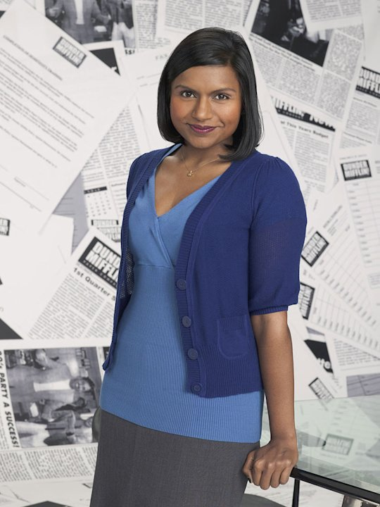 "Mindy Kaling as Kelly Kapoor in ""The Office."""