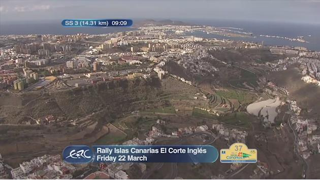 ERC CANARIAS after SS3