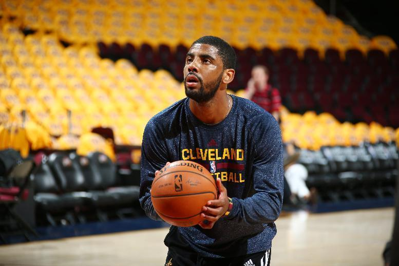 Cavs' Kyrie Irving out for Game 3 with injured knee