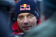 France's Sebastien Loeb is seen at the Sweden Rally of the second round of the FIA World Rally Championship in Hagfors, Sweden February 8, 2013. REUTERS/Micke Fransson/Scanpix Sweden