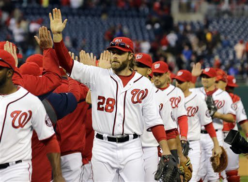 Nats beat Marlins 6-1 for 3-game sweep; Reds next