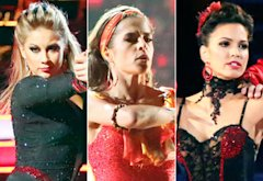 Shawn Johnson, Kelly Monaco, Melissa Rycroft | Photo Credits: Adam Taylor/ABC