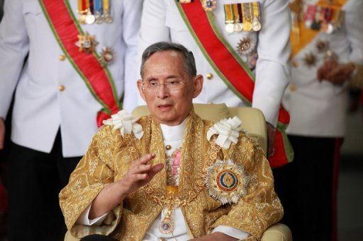 Recently, Thai King's health has shown signs of improving