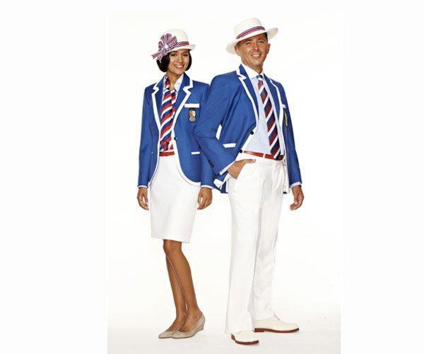 Belize Olympic Uniform 2012  © Fashion Magazine