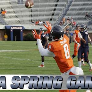 2015 Virginia Football Spring Game Highlights