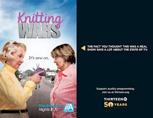 This Advertising Is Completely Fake And Its Brilliant image Knitting Wars2