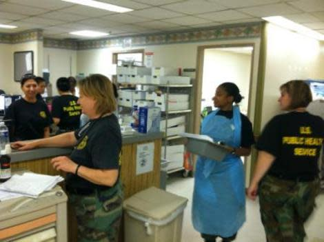 Public Health Service Aids Hurricane Sandy Relief