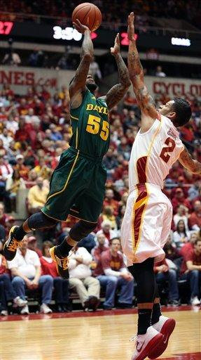 Will Clyburn leads Iowa State past Baylor 79-71