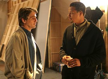 Tony Danza and Terrence Dashon Howard in Lions Gate Films' Crash