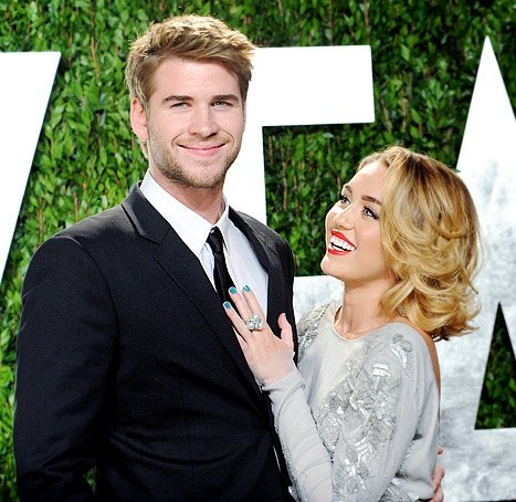 "Miley Cyrus: ""I Love Being a 'Fiancee'"""