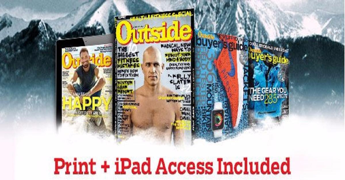 Outside Magazine - Try Today & Save Up To 79%