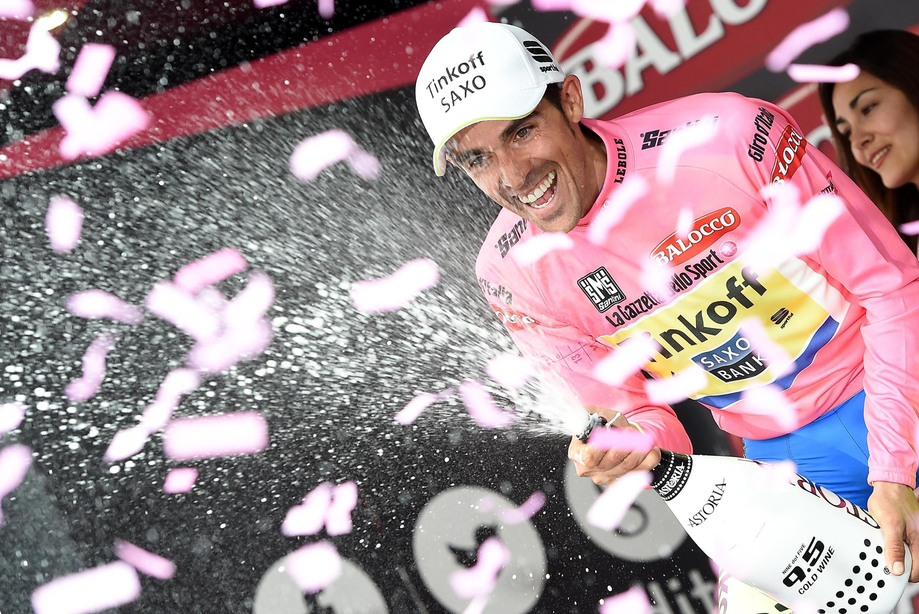 Contador extends overall Giro lead; Landa wins 15th stage