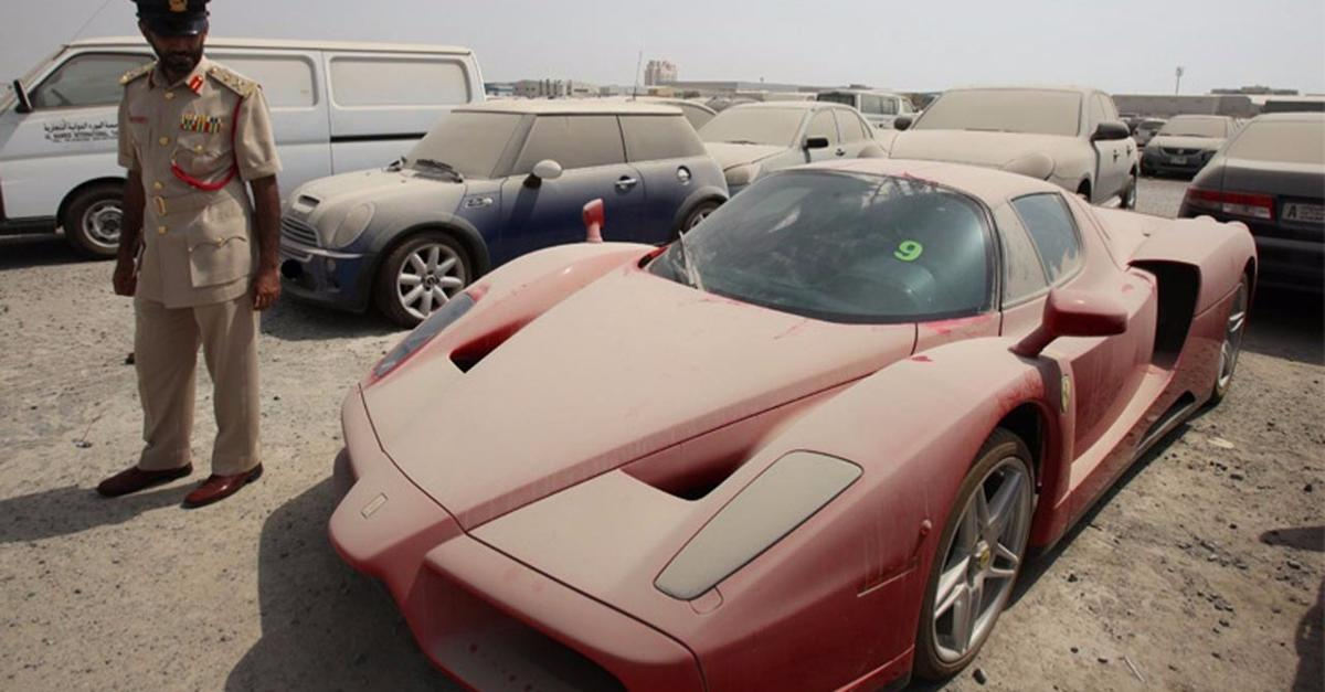 Limited Edition £1million Ferrari Abandoned