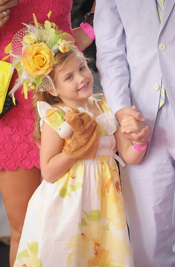 Anna Nicole Smith's Daughter Looks Just Like Her At Kentucky Derby