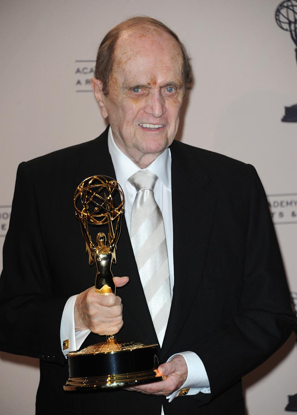 Bob Newhart finally gets his Emmy Award