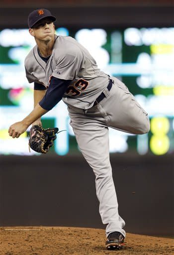 Doumit's 4 RBIs lead Twins past Tigers 4-2