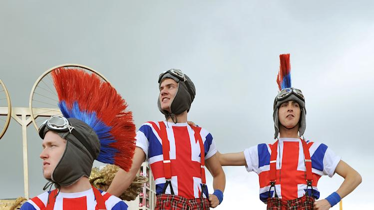 The UK Prepares For The Olympic Games With One Week To Go