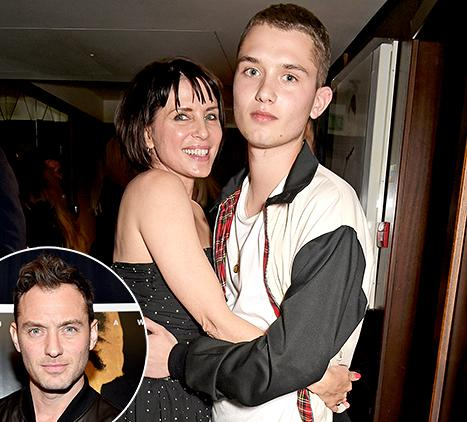 Jude Law's Look-Alike Model Son Rafferty Is All Grown Up: Photo
