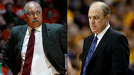 Tubby Smith and Ben Howland